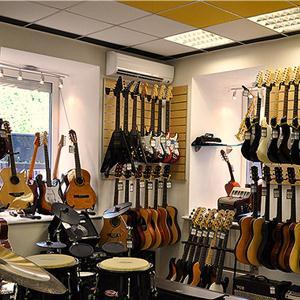 Музыкальные магазины Целины