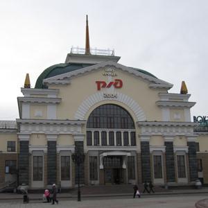 Железнодорожные вокзалы Целины